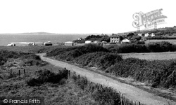 Ringstead, The Caravan Camp c.1955