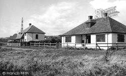 Ringstead, The Cottages c.1955