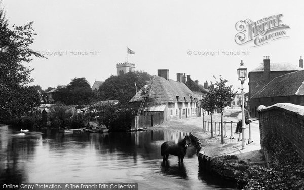 Ringwood,Millstream 1900,Hampshire