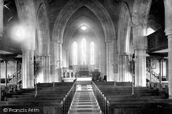 Ringwood, Church Nave East 1890