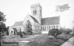 Ringwood, Church Of St Peter And St Paul From The South East 1890