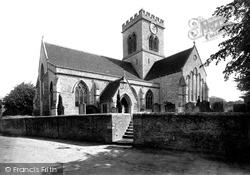 Ringwood, Church Of St Peter And St Paul From The South West 1890