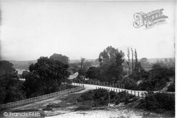 Ringwood, From Wimborne Road 1890