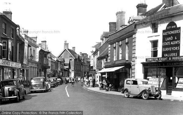 Photo of Ringwood, High Street c1955