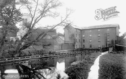 Ringwood, Mill And Church 1900