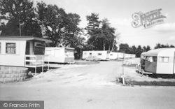 Ringwood, Oak Tree Farm Caravan Camp c.1965