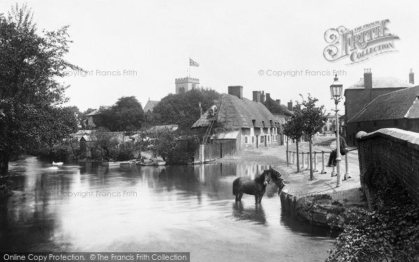 Ringwood,the Millstream 1900,Hampshire