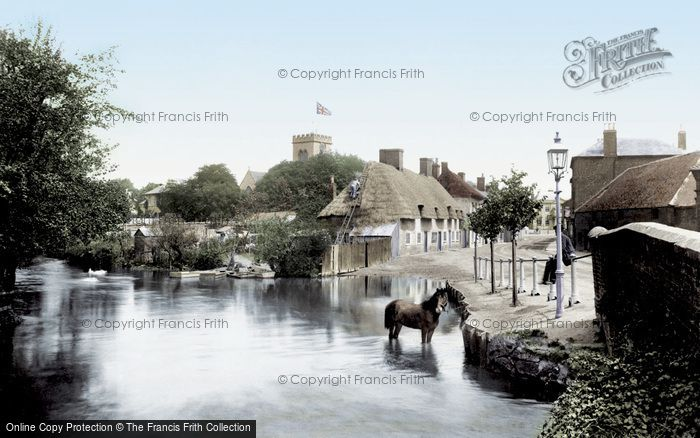 Photo of Ringwood, the Millstream 1900, ref. 45027t