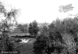Ringwood, View From Wimborne Road 1900