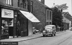 A Van In Grosvenor Road c.1955, Ripley