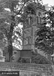 All Saints' Church c.1955, Ripley