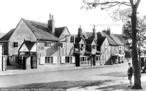 Ripley, Anchor Hotel, 1928. Reproduced courtesy of The Francis Frith Collection