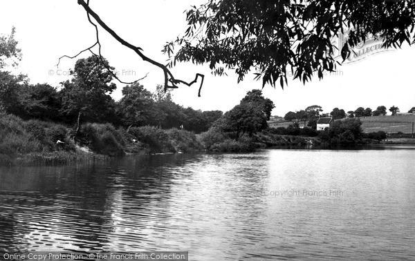 Photo of Ripley, Butterley Reservoir c.1955