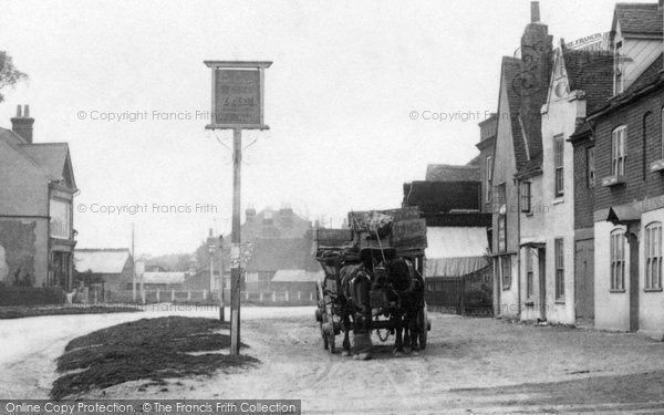 Photo of Ripley, Carriage In The Village 1903