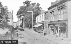 Church Street c.1960, Ripley
