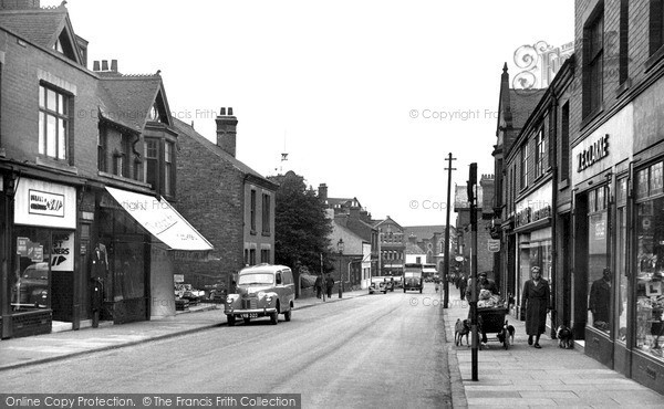 Ripley, Grosvenor Road c1955