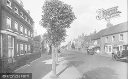 Ripley, High Street 1928