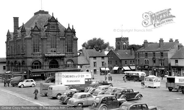 Photo of Ripley, Market Place c.1955