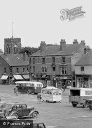 Market Place c.1955, Ripley