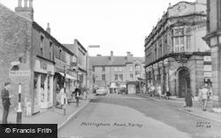 Nottingham Road c.1960, Ripley