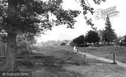 Ripley, Ripley Green From Newark Lane c.1965