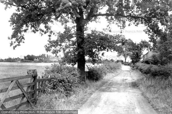 Ripley, Sandham Lane c1955