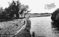 Ripley, The River Wey c.1955