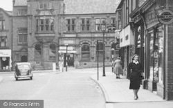 Ripley, Young Woman In Church Street c.1955