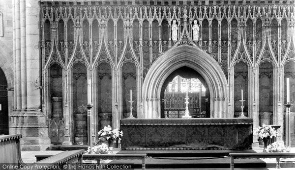 Photo of Ripon, Cathedral Screen 1935