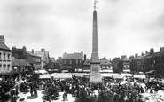 Ripon, Market Place 1901