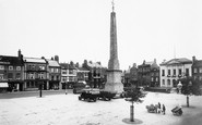 Ripon, Market Place 1914