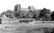 Ripon, The Cathedral, South West c.1950