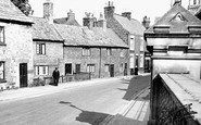 Ripon, The Old Bondgate c.1955