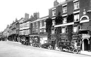 Ripon, Unicorn Hotel, Market Place 1914
