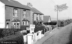 Cottages And Post Office c.1955, Ripple