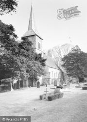 Ripple, St Mary's Church c.1955