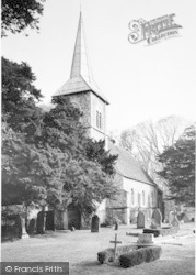 St Mary's Church c.1955, Ripple