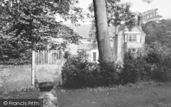 Ripple, The Old Rectory House c.1955
