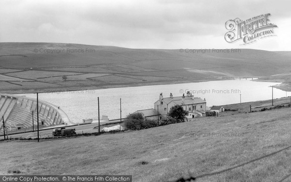 Photo of Ripponden, Baitings Reservoir And The New Inn c.1960