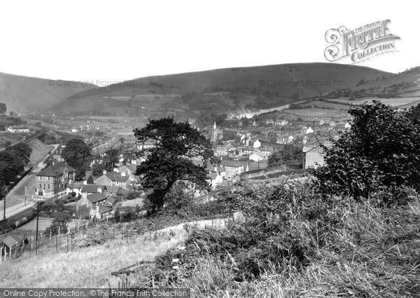 Risca, General View c1955