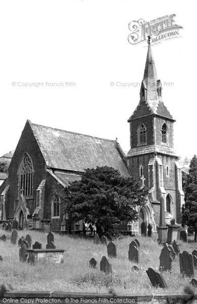 Photo of Risca, St Mary's Church c.1955
