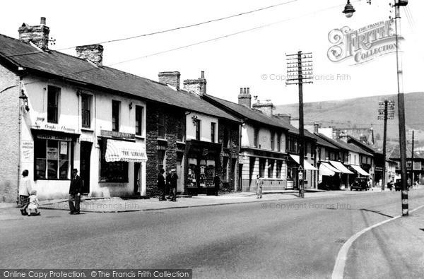 Risca, Tredegar Street c1955