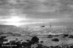 Sunset On The Clyde 1897, River Clyde