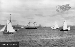 Yachts On The Clyde 1897, River Clyde