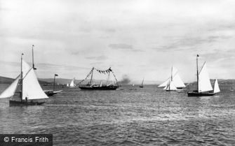 River Clyde, Yachts on the Clyde 1897
