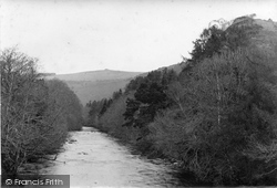 River Dart, Cleft Rock And Buckland Beacon 1913