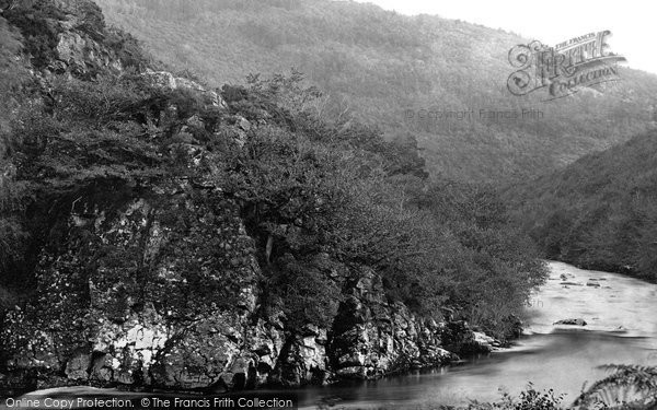 Photo of River Dart, Holne Chase, Lover's Leap c1871, ref. 5534