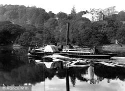 River Dart, Paddle Steamer 1889
