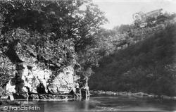 River Dart, Upper Dart, Lover's Leap 1890