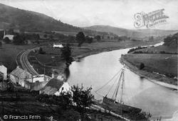 Near Begswear c.1878, River Wye